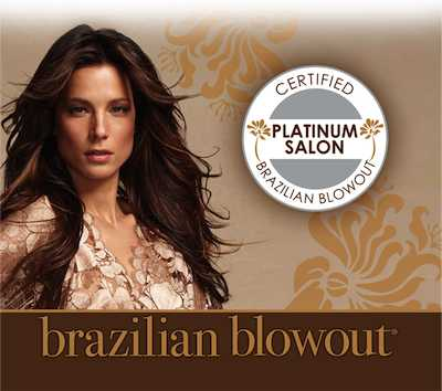 Brazilian Blowout Platinum Salon